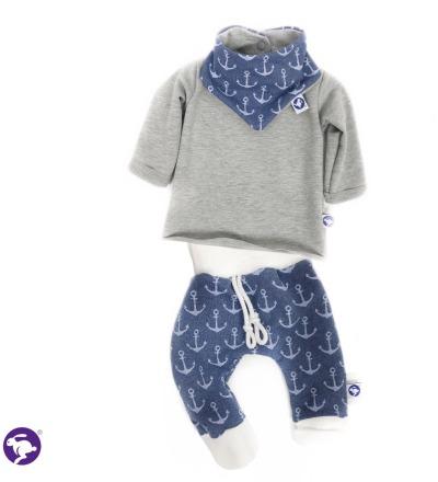 Set Hose Pulli und Tuch Zajaz - Zajaz -einzigartige Kindermode
