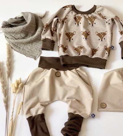 Pullover Bambi mit mitwachsbündchen