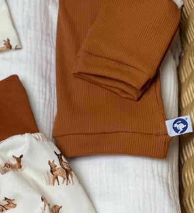 Pullover aus rippjersey