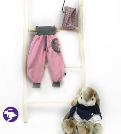 Pumphose aus Babycord Zajaz - Zajaz -einzigartige Kindermode