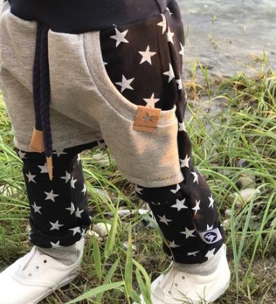 Pumphose Sterne mit Tasche Zajaz