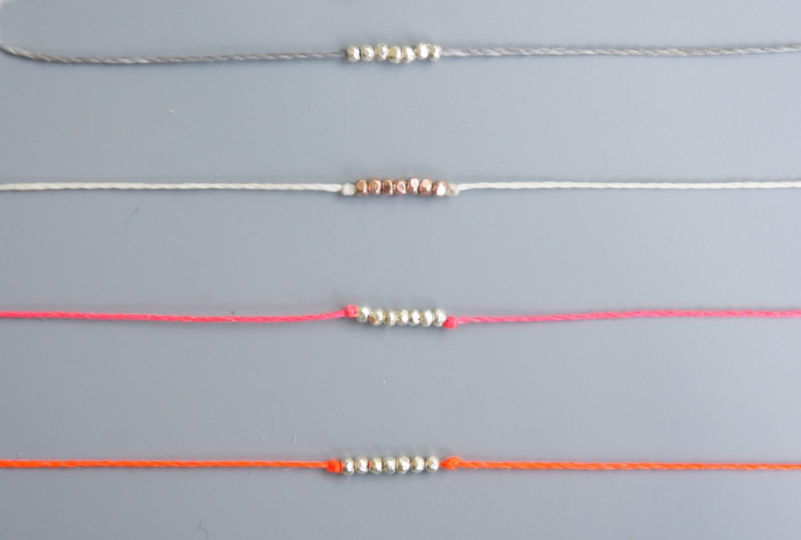 Wunscharmband Silberperlen