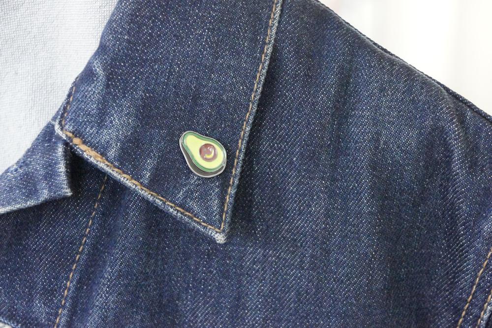 Brosche Pin Avocado