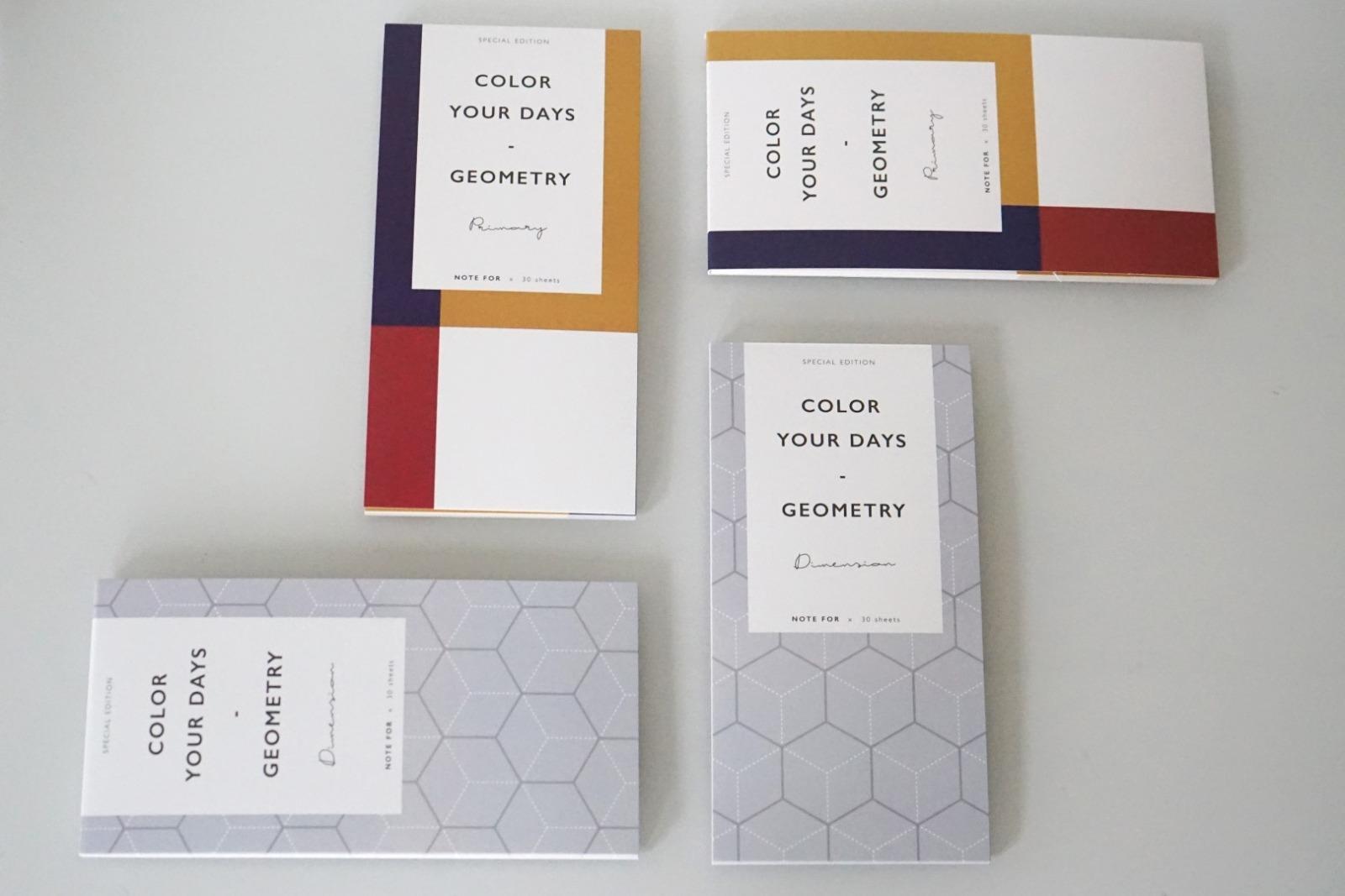 Memo Pad Notizzettel Geometrisch Avantgarde 3