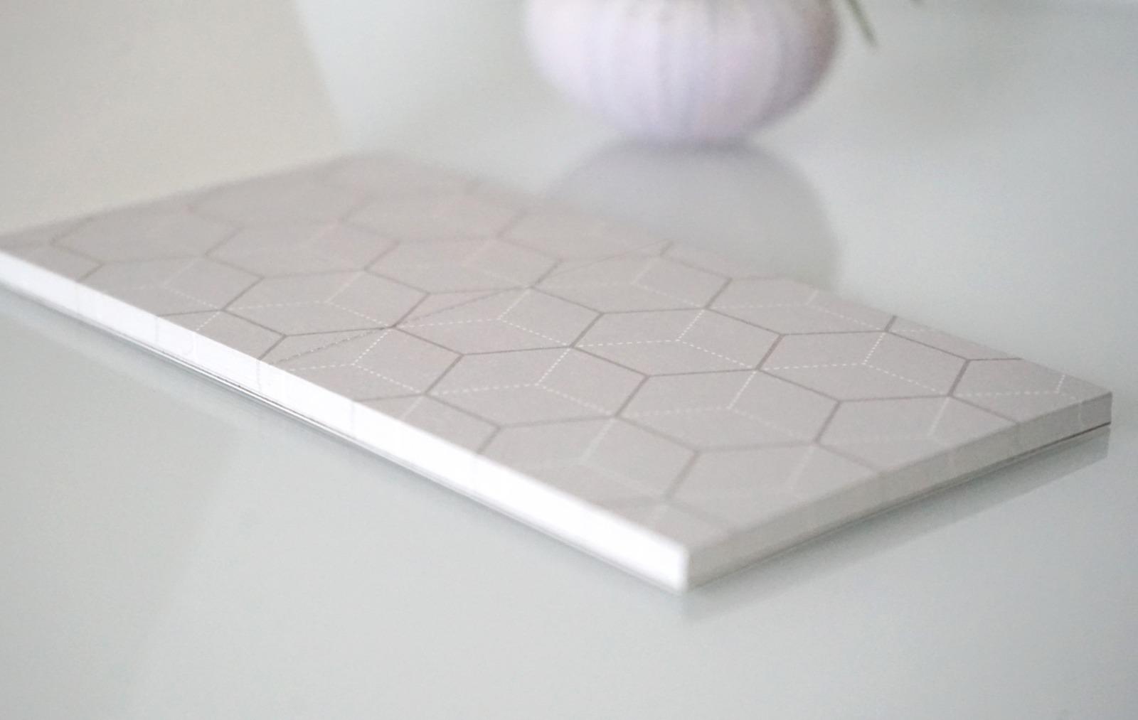 Memo Pad Notizzettel Geometrisch Hexagon 2