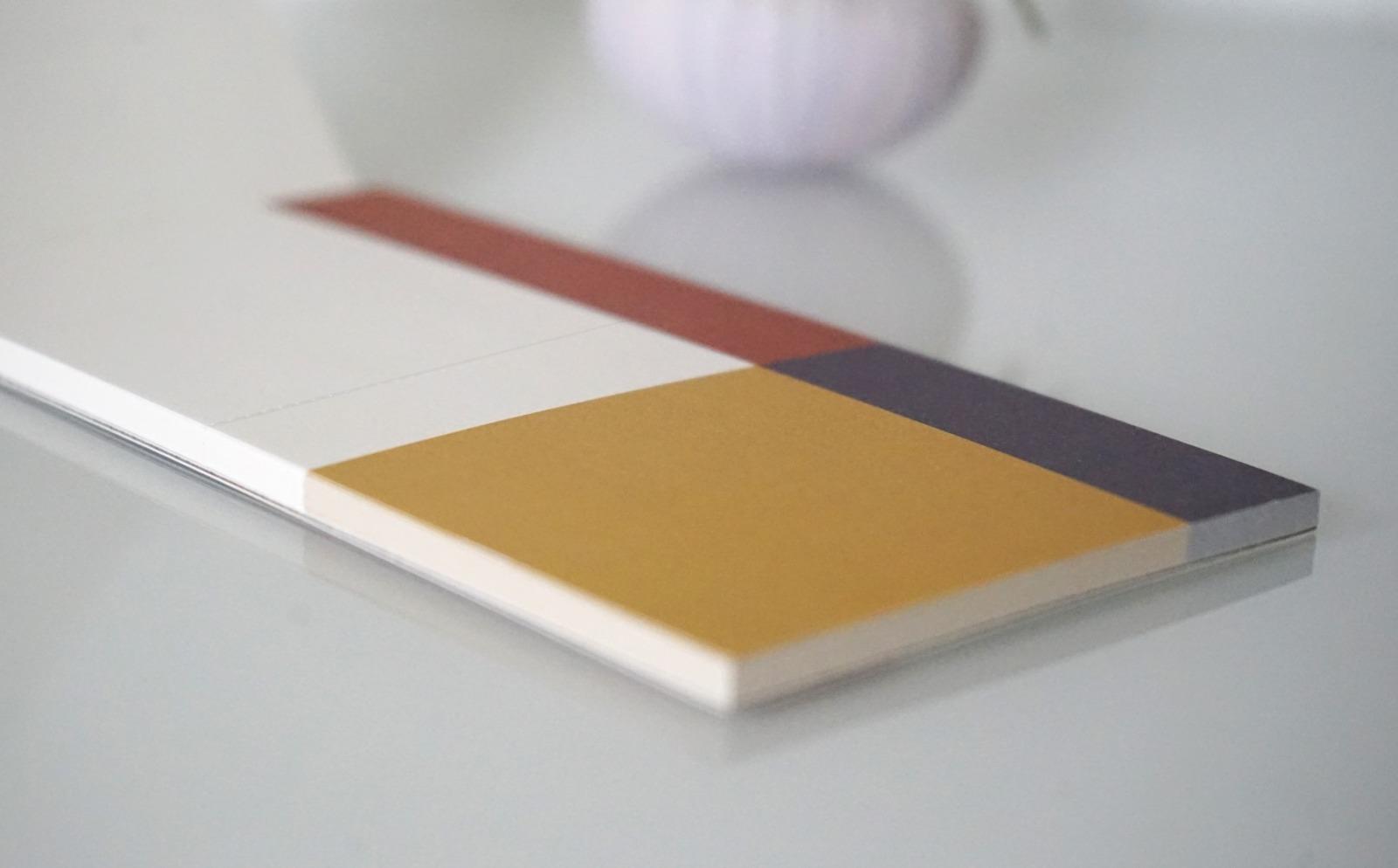 Memo Pad Notizzettel Geometrisch Avantgarde 2