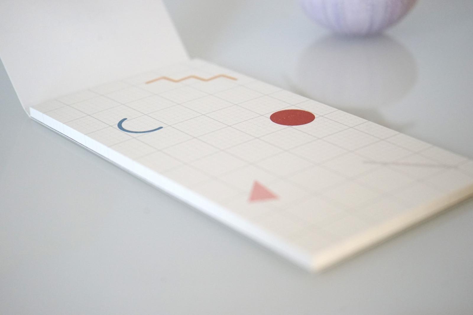 Memo Pad Notizzettel Geometrische Formen 2