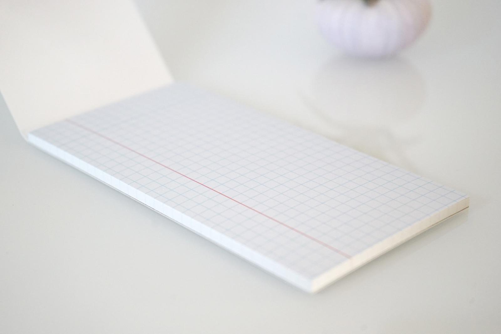 Memo Pad Notizzettel Geometrisch Linien 2