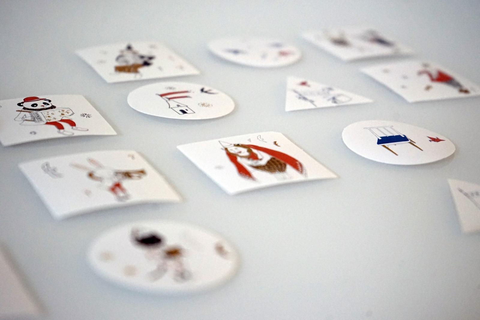 Sticker Set Zirkus mit 40 Aufklebern - 3
