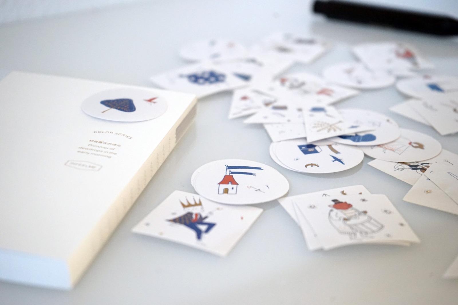 Sticker Set Zirkus mit 40 Aufklebern