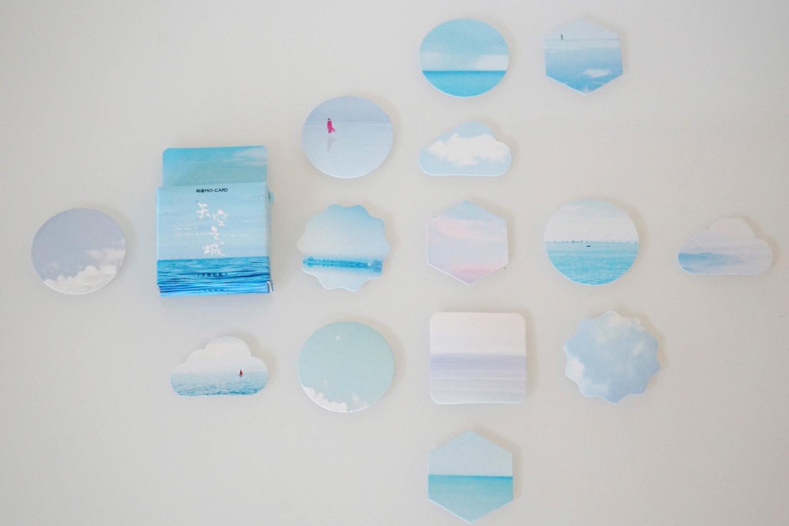 Sticker Set Himmel mit 46 Aufklebern