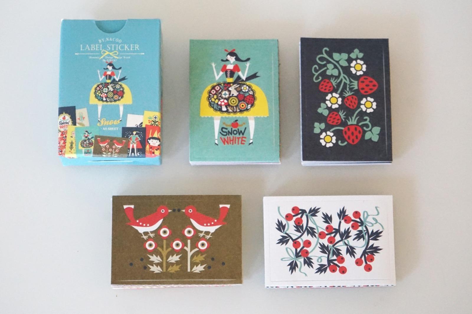 Stickerbox Schneewittchen mit 48 Aufklebern 2