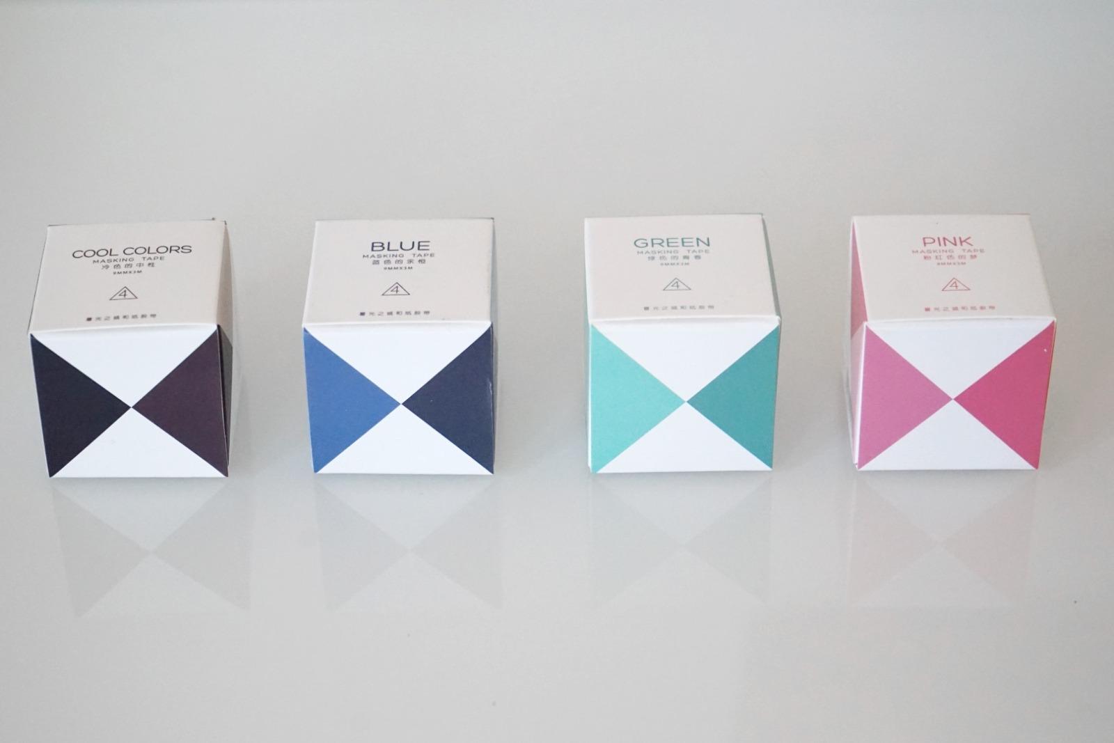 Klebeband Washi Tape Cool Colors 2