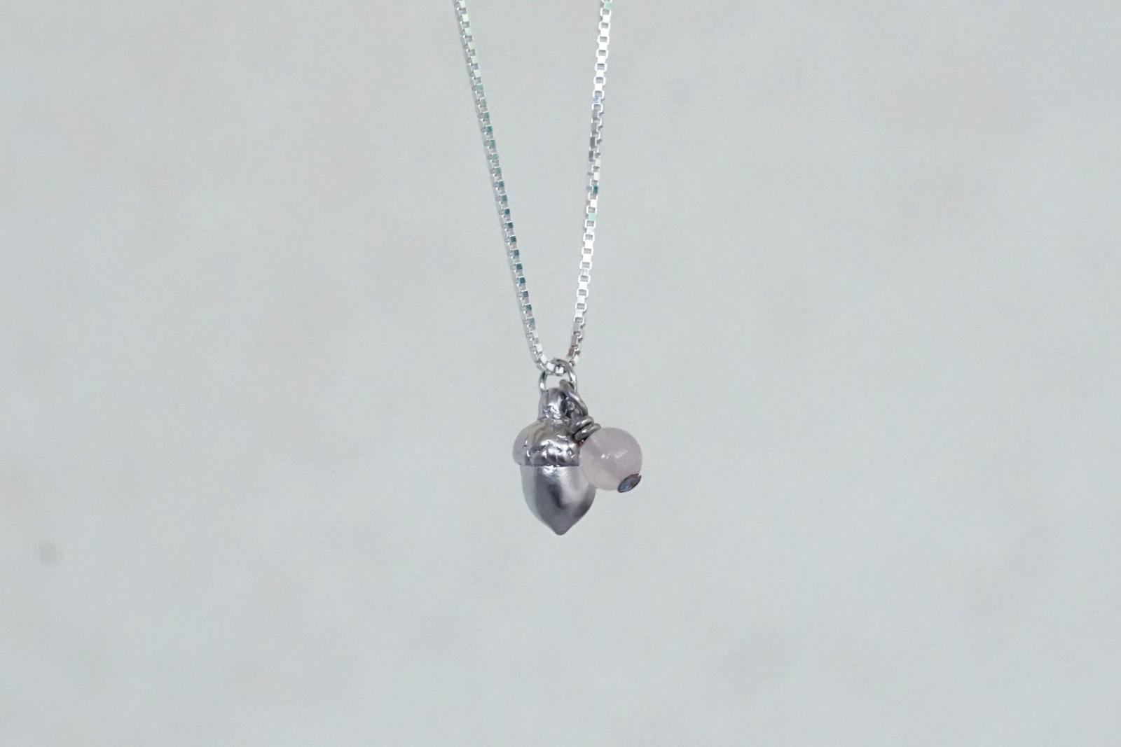 Feine Kette Sterling Silber mit Anhänger