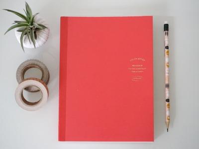 365 Tage DIY Kalender DIN A5, rot