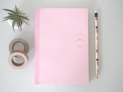 365 Tage DIY Kalender DIN A5, rosa