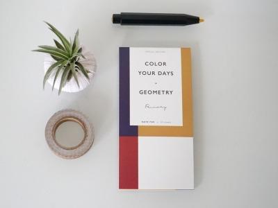 Memo Pad Notizzettel Geometrisch Avantgarde