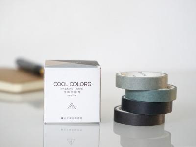 Klebeband Washi Tape Cool Colors