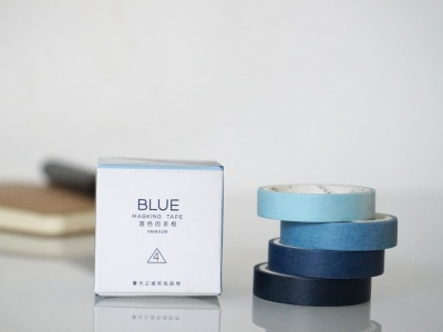 Klebeband Washi Tape Blue