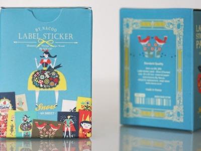 Stickerbox Schneewittchen mit 48 Aufklebern