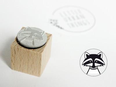 Stempel WASCHBÄR - 20x20mm