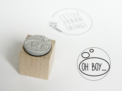 Stempel OH BOY - 20x20mm