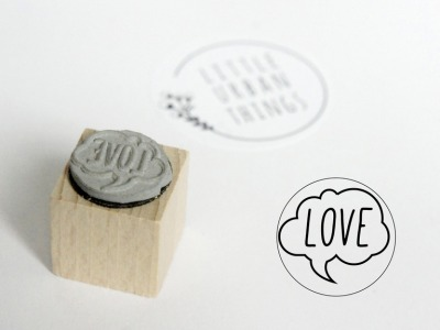 Stempel LOVE - 20x20mm