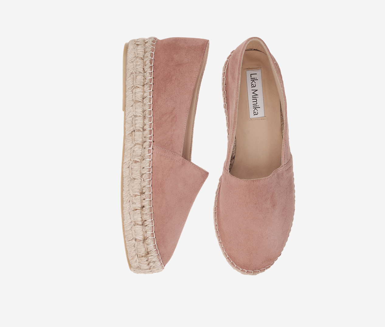 e40b8877b6b MAKE UP / Goat Suede / Upgrade Espadrilles