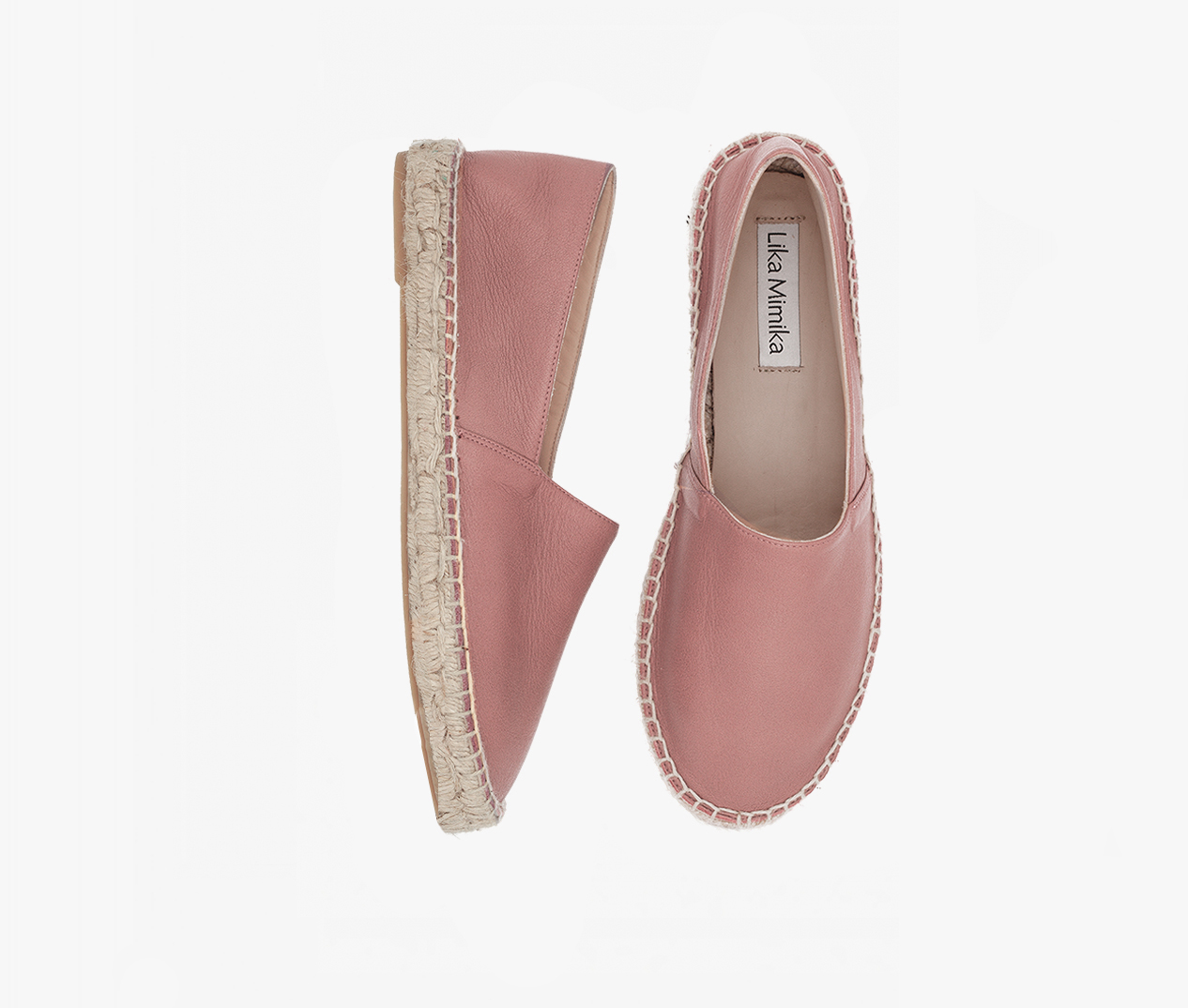97204696729 BLUSH / Calf Leather / Espadrilles