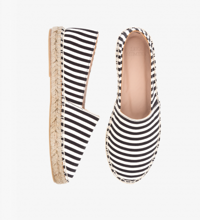 SKINNY STRIPES - Cotton / Espadrilles