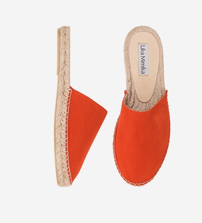 CORAL - Pre Order End of April - Goat Suede / Mula