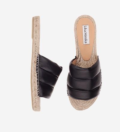 BLACK - Slipper Padded