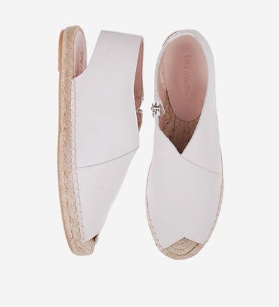 CREME - Cruzado Zipper Sandal