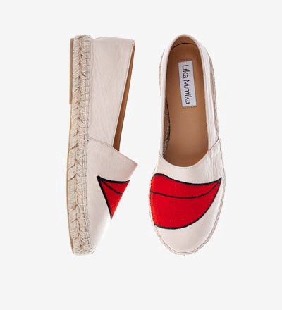 KISS KISS / Pre Order - Calf Leather / Espadrilles