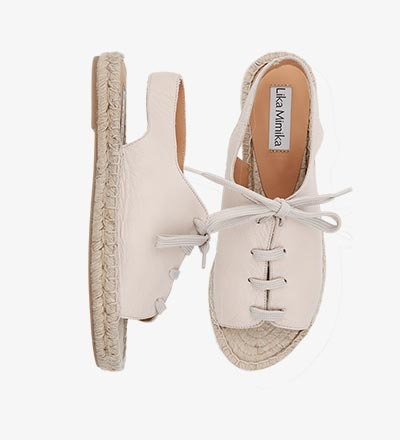 IVORY - Sling Sandal