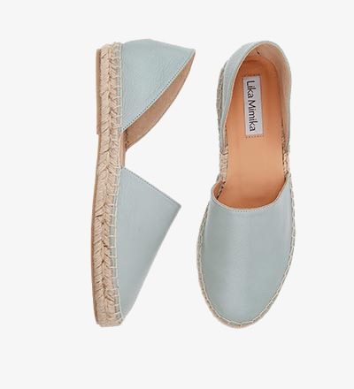 SALVIA / Pre Order - Calf Leather / Menorquinas