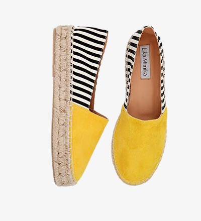 SOLE STRIPES - Espadrilles