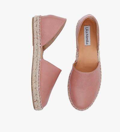 BLUSH - Calf Leather / Menorquinas