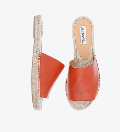 RUSTY RED - Slipper