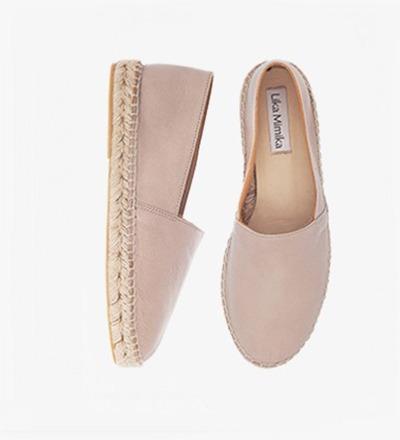 HAZEL - Calf Leather / Espadrilles
