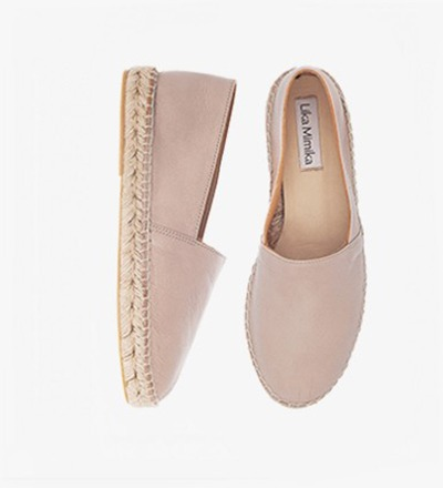 HAZEL - Calf Leather / Espadrilles