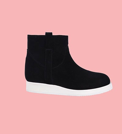 BLACK / Pre Order End of November - Short Boots