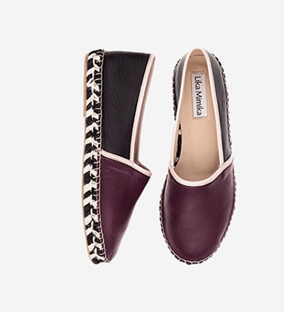MONTMARTRE - Pre Order End of April - Lamb Nappa / Espadrilles