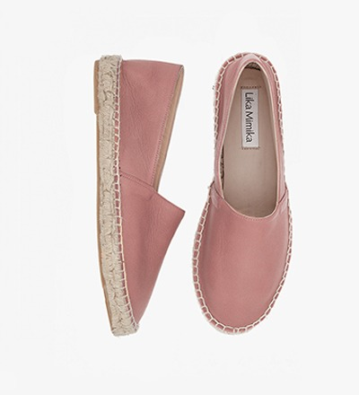 BLUSH - Calf Leather / Espadrilles