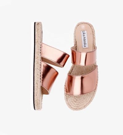 SHINY COPPER - CALF Leather / Hybrid Sandal