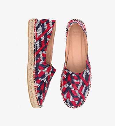 ETHNO - Woven Fabric / Espadrilles