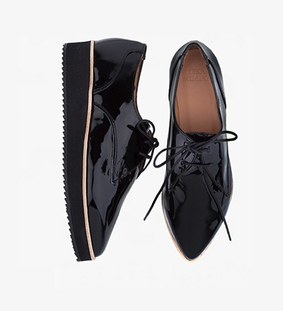 BLACK NUIT - OXFORD LACE UP