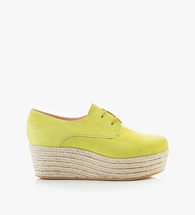 FLUOR - Plateau Lace Up