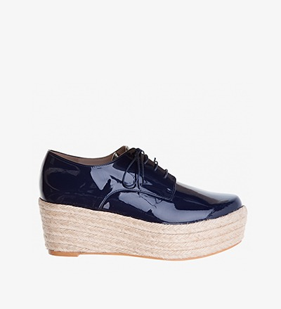 MARINO PATENT - Plateau Lace Up