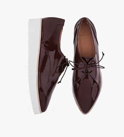 PRALINE - OXFORD LACE UP